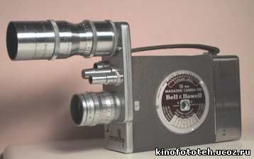 Bell & Howell Magazine camera 200T